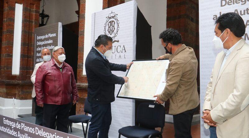 Informa alcalde de Toluca del inicio de reencarpetamiento en vialidades de todo el municipio