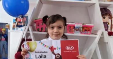 Laila vivió una experiencia inolvidable gracias a KIA y Make-A-Wish