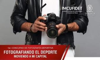 Invita IMCUFIDET al primer concurso de fotografía deportiva