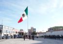 El gobierno municipal de Huixquilucan conmemoró el Día de la Bandera, símbolo de unidad, esperanza y lucha por un mejor futuro.