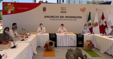Anuncia Nestlé México inversión por 300 millones de pesos para modernizar fábrica COFFEE-MATE® en Chiapa de Corzo