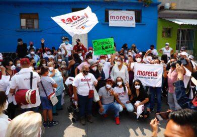 Vecinos de fraccionamientos expresan su apoyo a Raciel Pérez Cruz