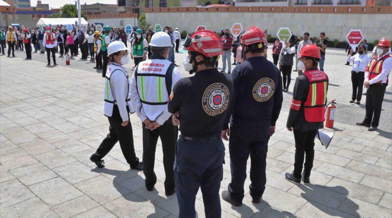 Huixquilucan se sumará al Macrosimulacro Nacional 2021